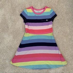 Gap Kids Print Fit & Flare Dress - EUC